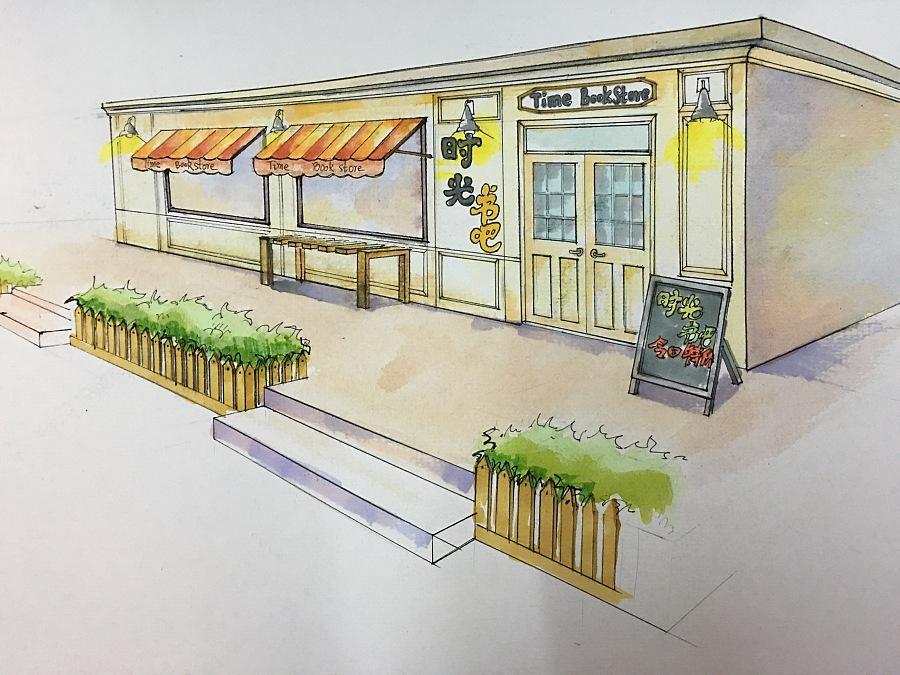 手绘图片均由: 马克笔 ,水彩颜料,彩色铅笔,钢笔,针管笔等完成