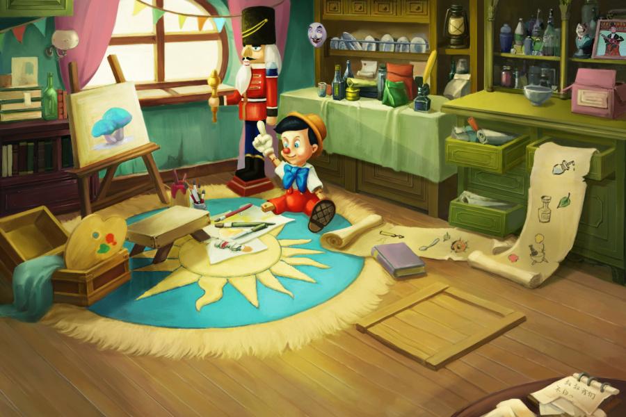 室内小游戏大全_室内场景|游戏原画|插画|小姨妈来了 - 原创设计作品 - 站酷 (ZCOOL)