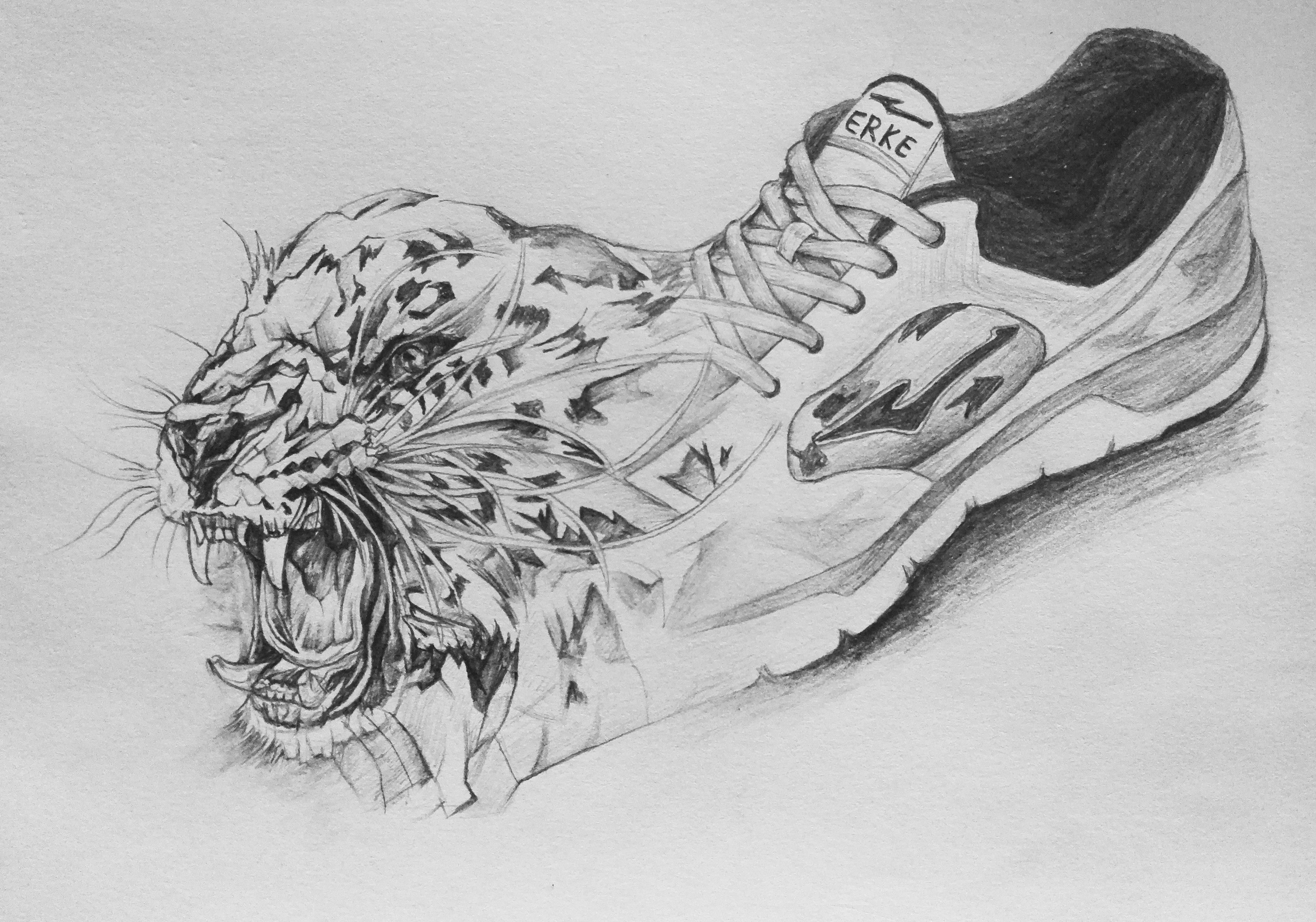 手绘豹子头像图片