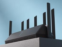 年前年后-小米路由器Ax3600-WiFi6和一些C4D渲染