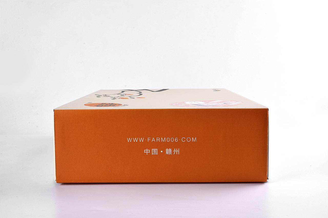 AI物料设计包装刀模天地盖飞机盒专色四色印刷不干胶PSCDR易拉宝明信片纸巾VI橙先森传橙春秋农庄