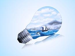 灯泡海洋练习