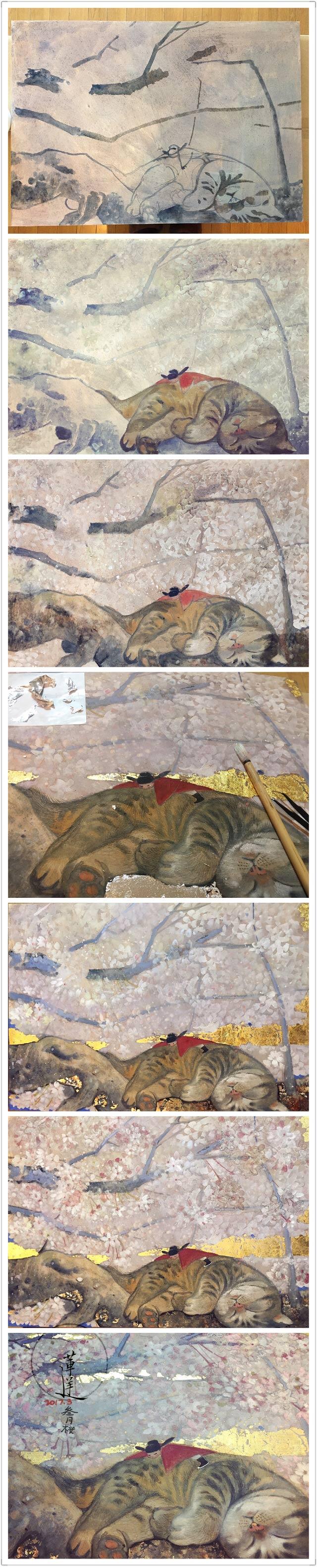 查看《【岩彩】三月樱》原图,原图尺寸:640x3159