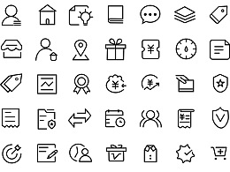 Icon线性小标练习