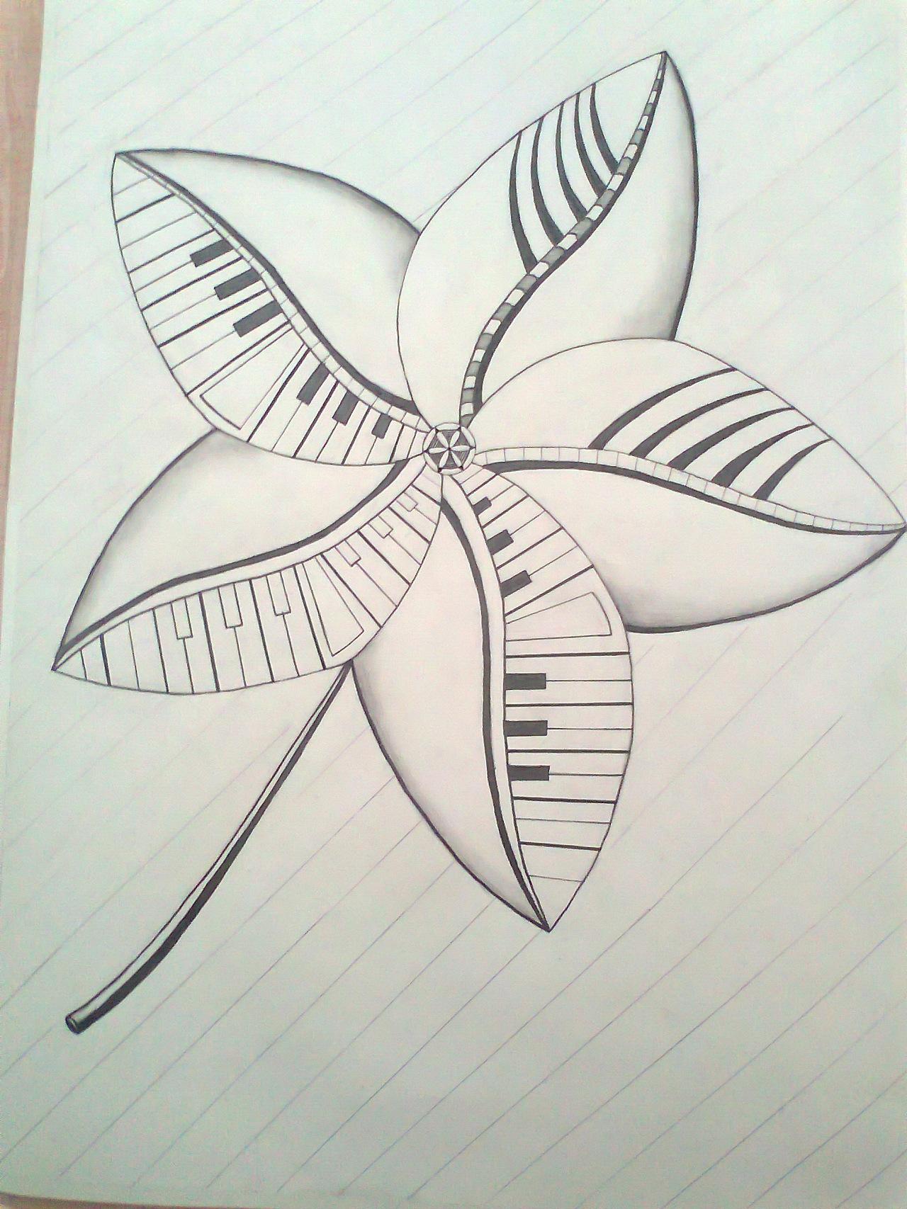 枫叶图片简笔画手绘