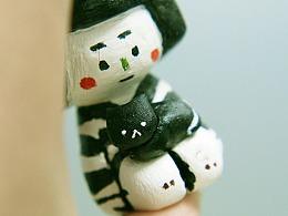 冷静酱 —— 原创石粉黏土手工玩具组合
