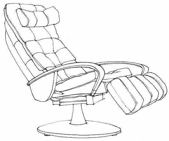 家具 简笔画 手绘 线稿 椅 椅子 576_480