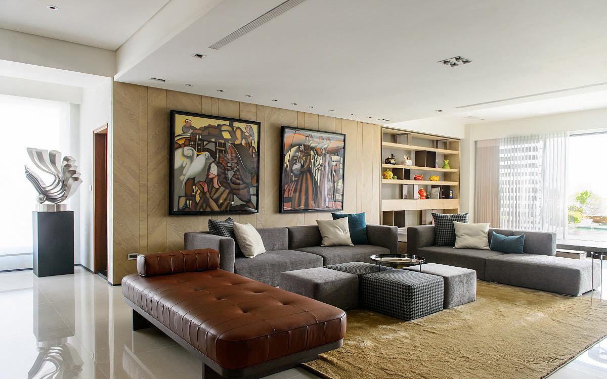 勃朗专业高端别墅设计公司-艺术家别墅豪宅装修设计图图片