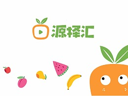 源泽汇水果LOGO