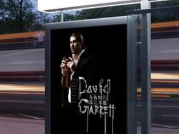David Garrett 音乐会视觉设计