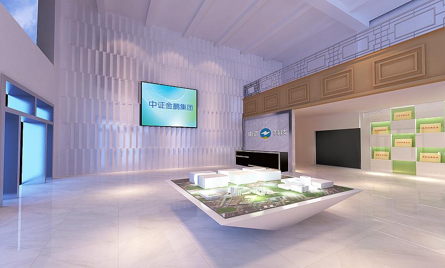 某环保企业展厅 展示设计  空间 一语过江 - 原创设计