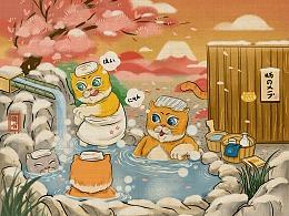 橘喵日本之旅