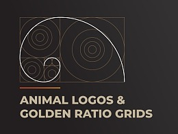 Animal Logo and Golden Ratio Grids