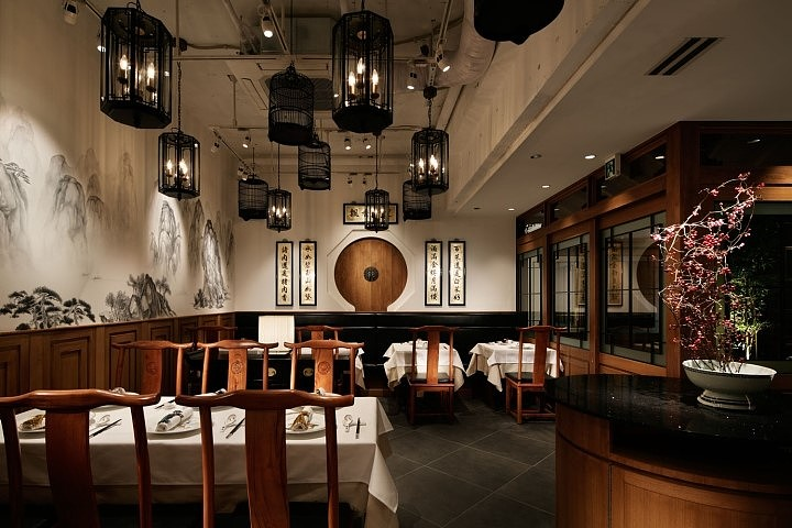 川渝空间-川菜馆装修设计|木匠|室内设计|尚品老味道v空间ui会手绘必须要吗图片
