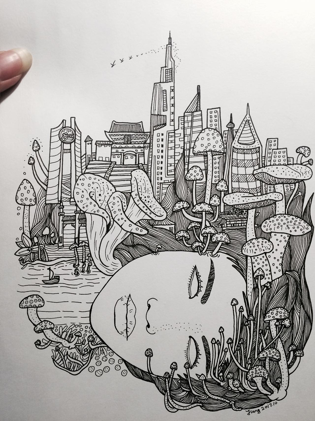 南京城市篇|插画|涂鸦/潮流|艺博乐创意袁博 - 原创