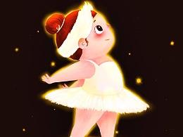 胖胖自己的芭蕾舞团 ④