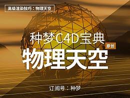 纯干货:种梦C4D宝典——高级渲染技巧:物理天空