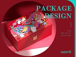 无樂不作丨雅乐互动2021新年礼盒包装设计