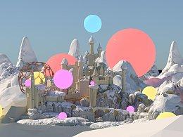 童话场景模拟