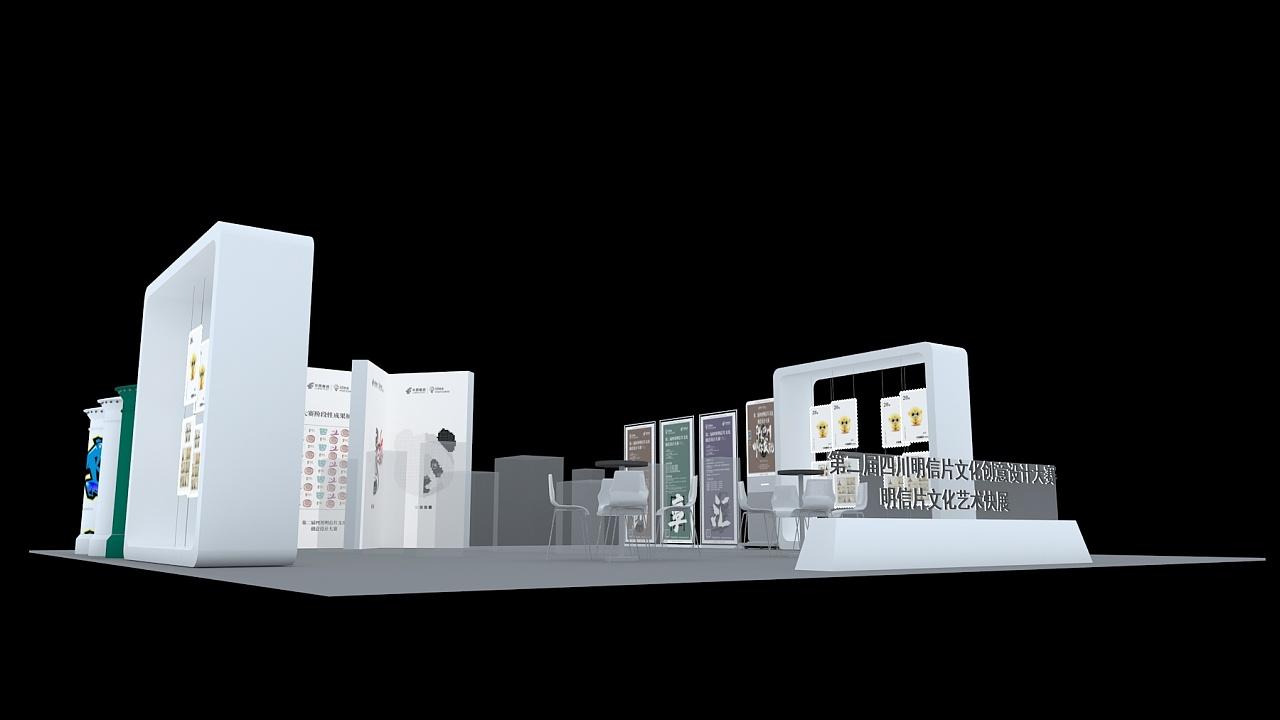 展台|空间|展示设计 |hello木木姑娘 - 原创作品