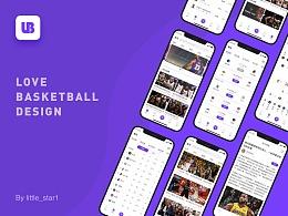 酷爱篮球概念设计