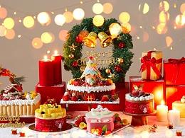 「迟来的圣诞节」香港圣安娜圣诞蛋糕