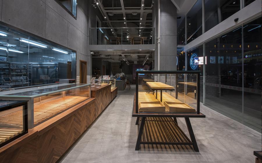 意美吉日式共振餐厅平面v餐厅|VI/CI|整体|金缚-北京烘焙建筑设计地址公司图片