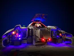 铁的传奇2018新春献礼:49平米方舟号钢铁智能模型问世