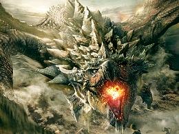 《怪物猎人》概念海报