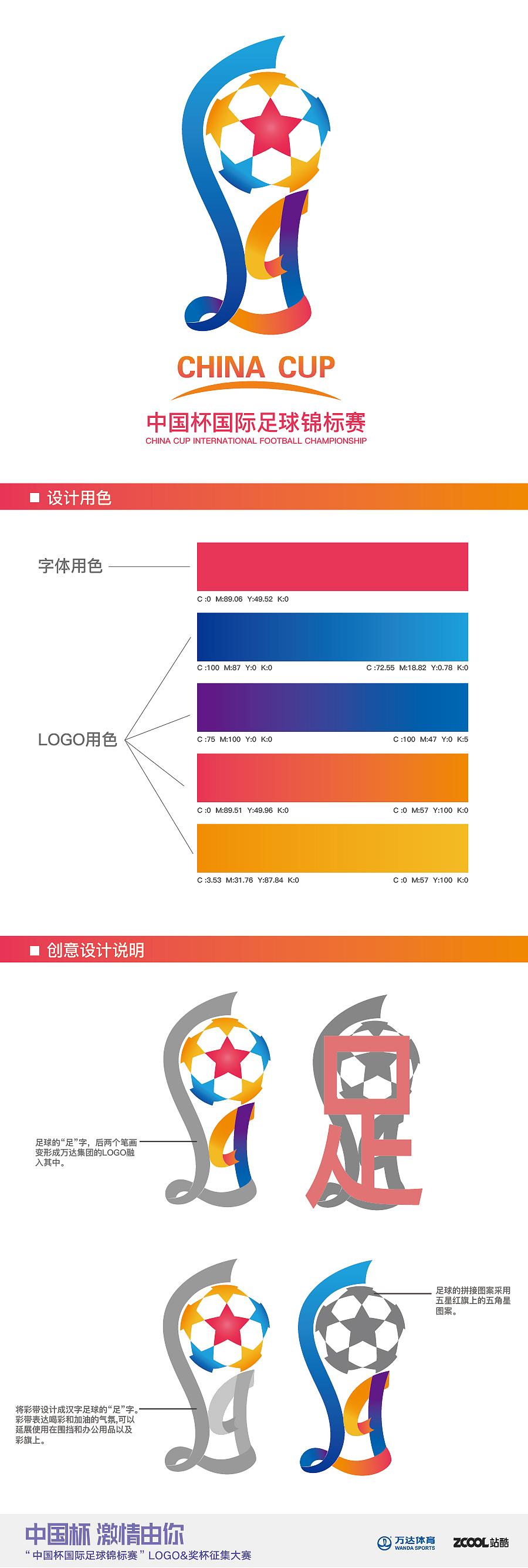 红旗笔画-中国杯足球锦标赛