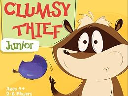 数学卡牌游戏《Clumsy Thief》