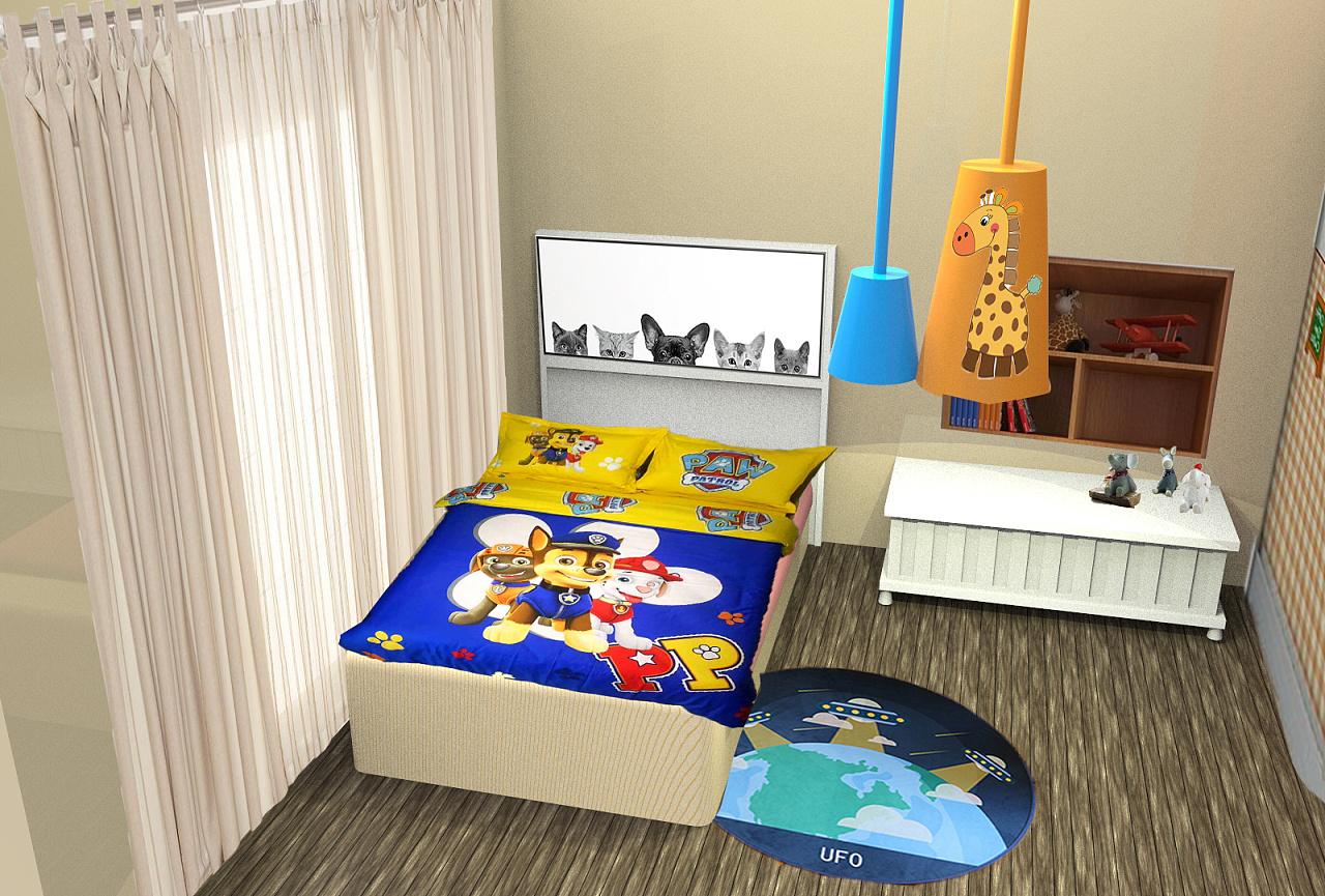 简简单单的儿童房