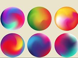 AI网格渐变制作炫彩球体教程