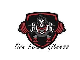 狮子心健身工作室LOGO设计