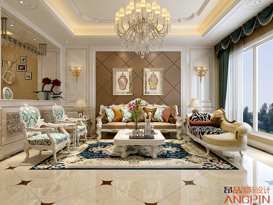 贵阳未来方舟联排别墅装修设计案例|室内设计|空间