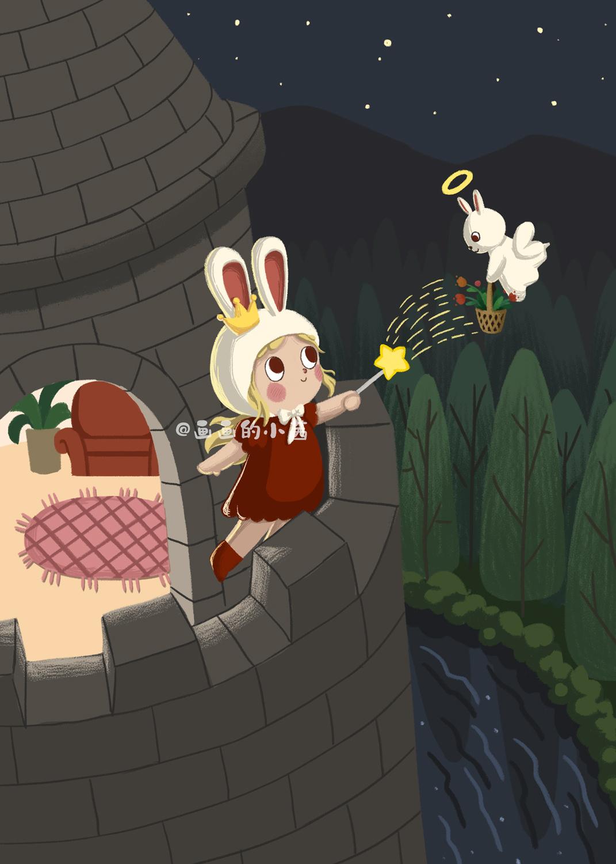 兔子简笔画可爱