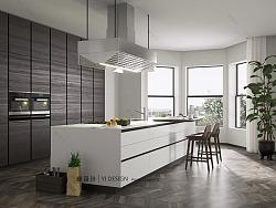 意式厨柜空间表现