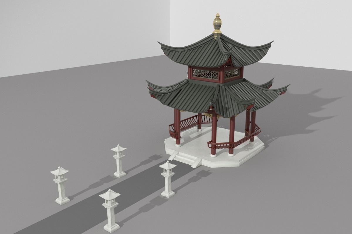 重檐 房梁 结构图
