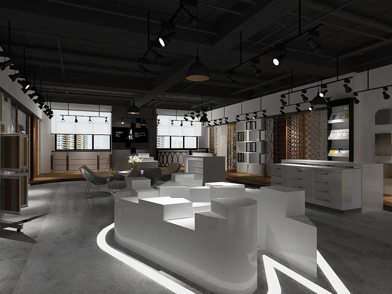 不锈钢建材展厅 成都展厅装修丨成都展厅设计公司