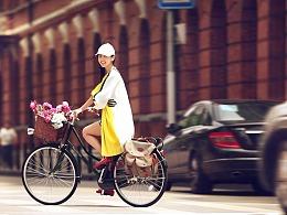 Bicycle girl /《东》magzine