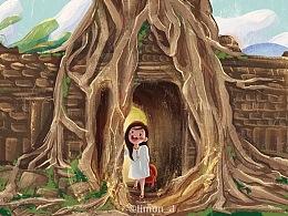 周绘。一个人旅行柬埔寨篇