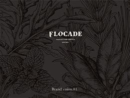 FLOCADE复古西餐厅品牌VI全案|DODOWANG DESIGN
