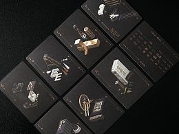 黑金C4D场景杀手游戏卡片