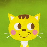 原创作品:卡通动物头图片