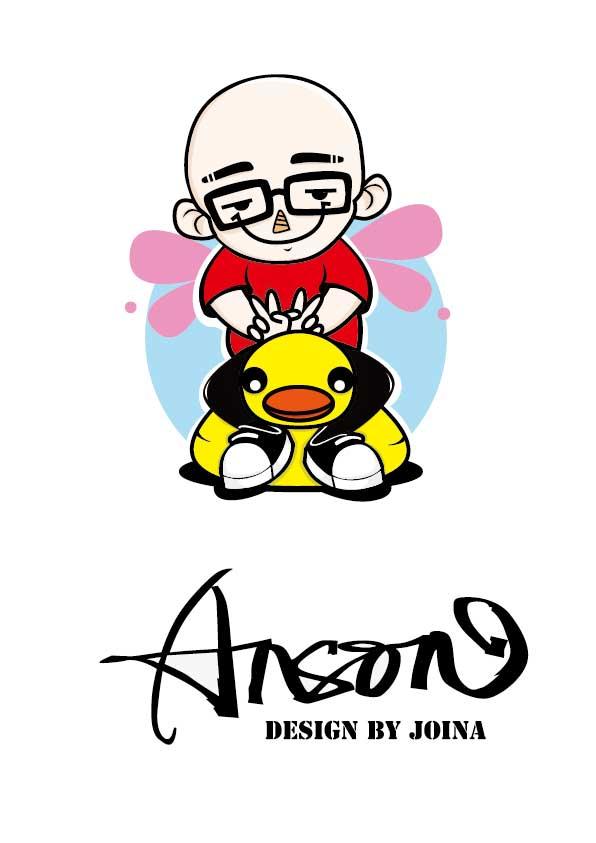 艺人平安卡通形象设计