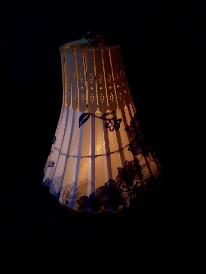 手工制作灯笼,用扇子做的|手工艺|其他手工|超爱小花