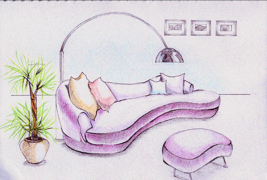 沙发是最柔软的地方一如你的心