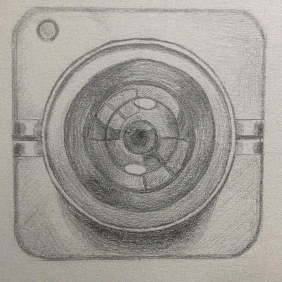 手绘相机图标1