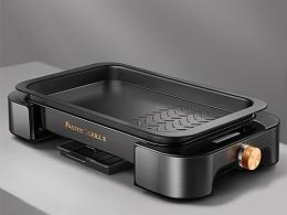 电烤盘详情设计