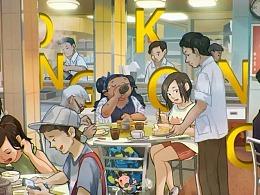 水兵悦的旅行·香港